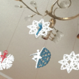 Download free STL file Dancing snowflakes • Design to 3D print, TanyaAkinora