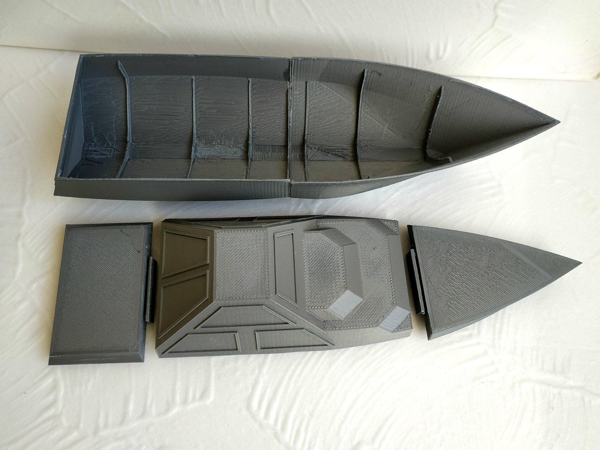 DARINS_6_1.jpg Download free STL file DARINS - stealth boat with reactionless propulsion drive • 3D printer design, TanyaAkinora
