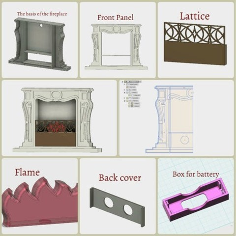 982a206a7eb0a4964254bc84a796d0dd_preview_featured.jpg Download free STL file Fireplace • 3D printing design, TanyaAkinora