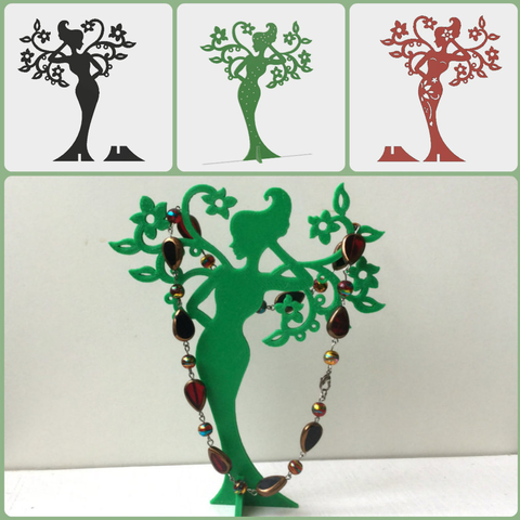 Capture d'écran 2017-05-15 à 10.20.43.png Download free STL file Girl - Spring. Stand for jewelry. • 3D print design, TanyaAkinora