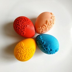 Easter_eggs.jpg Download free STL file Easter eggs box • 3D printing design, TanyaAkinora