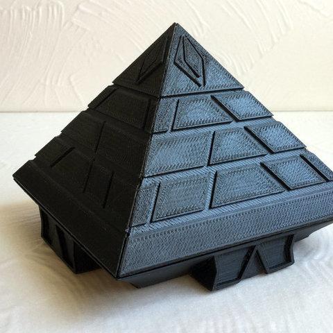 Download free 3D printing models Pyramid Starship, TanyaAkinora