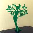 Capture d'écran 2017-05-15 à 10.20.37.png Download free STL file Girl - Spring. Stand for jewelry. • 3D print design, TanyaAkinora