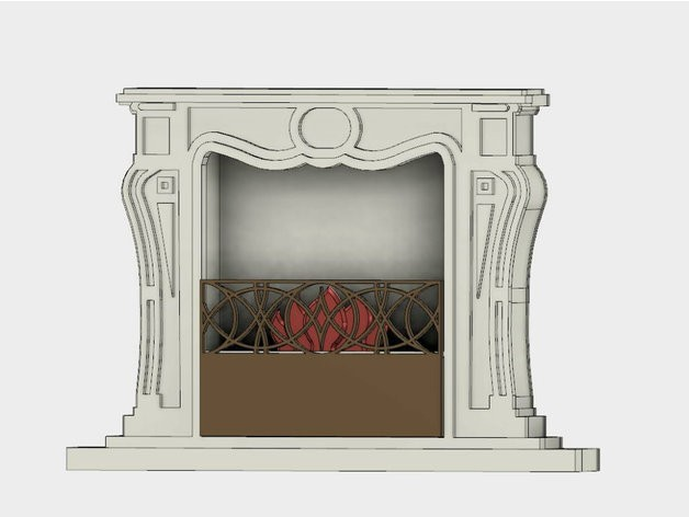 c7c22381c05028f29775177f9cb5f3cf_preview_featured.jpg Download free STL file Fireplace • 3D printing design, TanyaAkinora