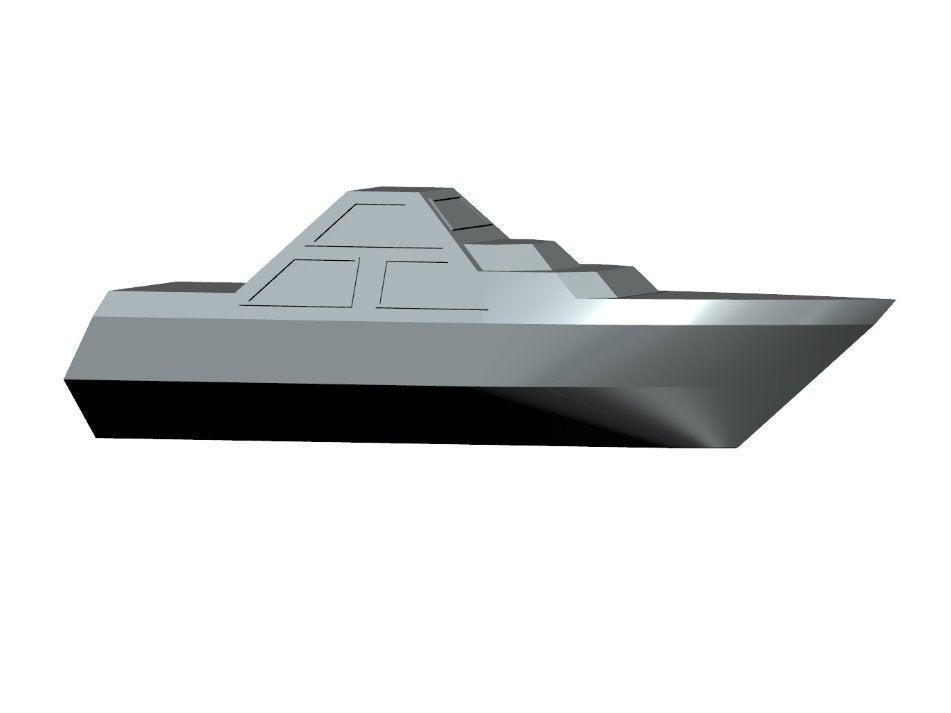 DARINS_5.jpg Download free STL file DARINS - stealth boat with reactionless propulsion drive • 3D printer design, TanyaAkinora