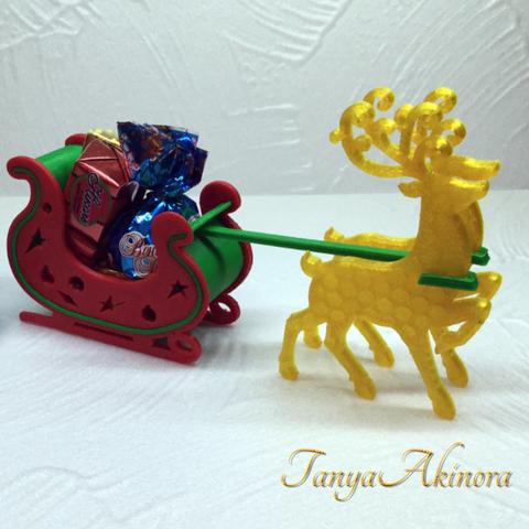 Capture d'écran 2017-12-12 à 17.19.13.png Download free STL file Christmas deer • 3D print template, TanyaAkinora