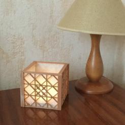 modelos 3d gratis Lamp Kumiko Shoji style, TanyaAkinora