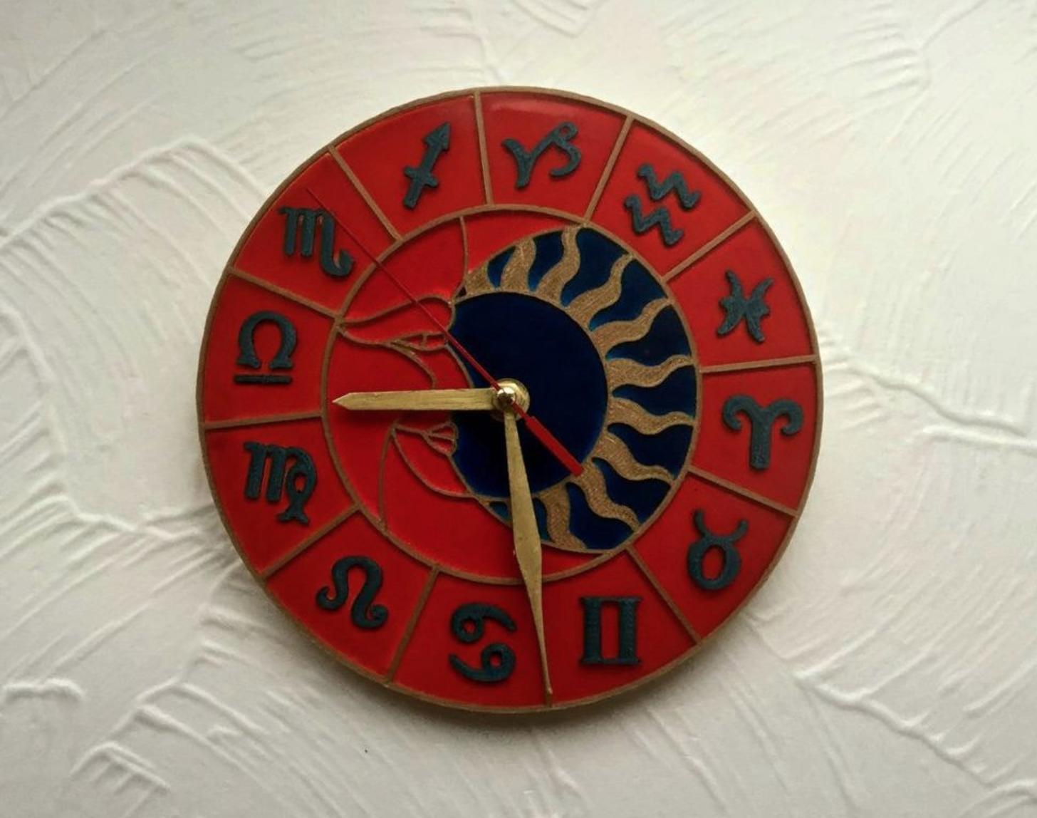 Capture d'écran 2017-12-19 à 18.28.55.png Download free STL file Wall Clock Zodiac Circle • Model to 3D print, TanyaAkinora