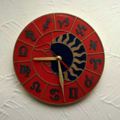 Capture d'écran 2017-12-19 à 18.28.55.png Download free STL file Wall Clock Zodiac Circle • Model to 3D print, TanyaAkinora