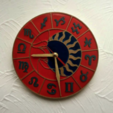 Free 3D model Wall Clock Zodiac Circle, TanyaAkinora