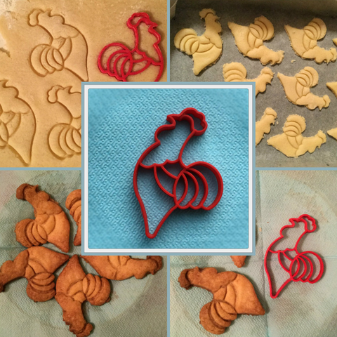 Capture d'écran 2016-12-19 à 09.45.22.png Download free STL file Cookie Cutter Rooster • 3D printing design, TanyaAkinora