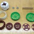 Archivos 3D gratis Gen6 - 3d impreso, generador de energía eléctrica del arsenal de Halbach, TanyaAkinora