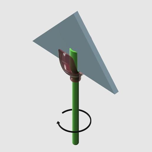 Tulip_napkin_holder_5.jpg Télécharger fichier STL gratuit Porte-serviettes en forme de tulipe • Objet pour imprimante 3D, TanyaAkinora