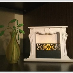 Free STL Fireplace, TanyaAkinora