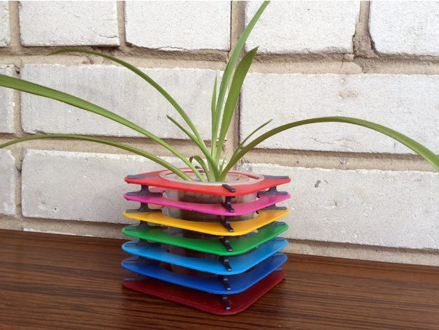 1380205dce77e75f9ba90a4fd809cbfa_preview_featured.jpg Download free STL file Flower pot • Template to 3D print, TanyaAkinora