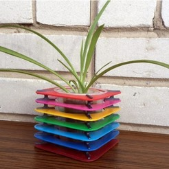 Free 3d printer model Flower pot, TanyaAkinora