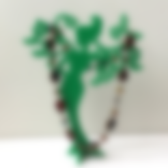bot.stl Download free STL file Girl - Spring. Stand for jewelry. • 3D print design, TanyaAkinora