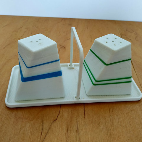 Download free 3D printer templates Salt and pepper shaker, TanyaAkinora