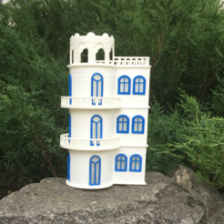 Free 3D printed villa on the lake 3D printer file, TanyaAkinora