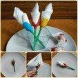 Download free 3D printer designs Tulip-shaped napkin holder, TanyaAkinora