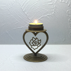 Capture d'écran 2018-01-26 à 17.02.46.png Download free STL file Candlestick Heart • 3D printing object, TanyaAkinora