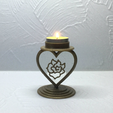 Download free STL file Candlestick Heart, TanyaAkinora