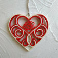 Download free 3D model 3D printed Quilling Heart, TanyaAkinora