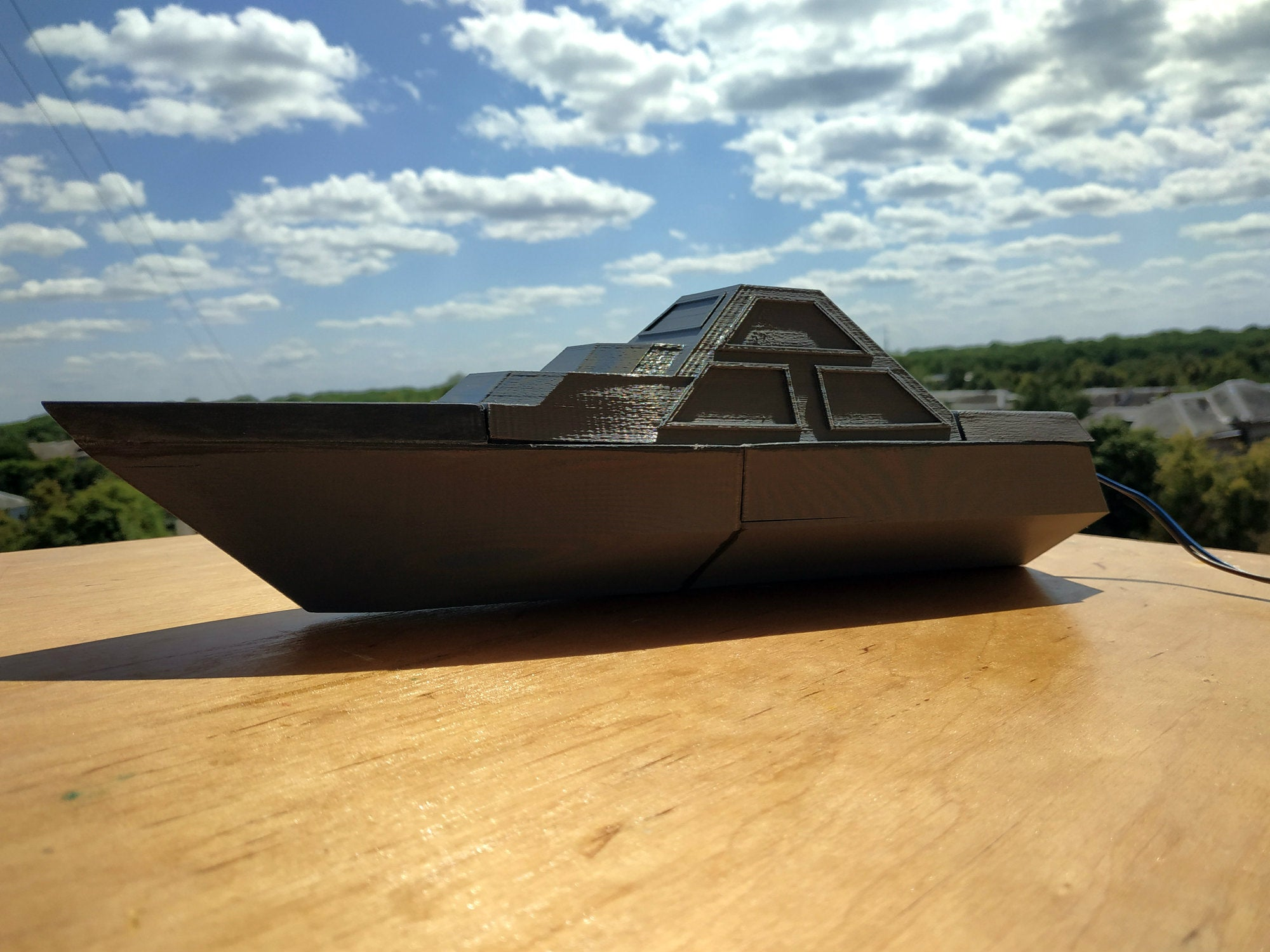 DARINS_4_1.jpg Download free STL file DARINS - stealth boat with reactionless propulsion drive • 3D printer design, TanyaAkinora
