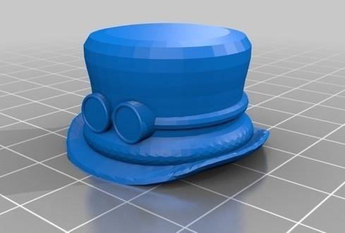 screenshot.8793.jpg Télécharger fichier STL gratuit Steampunk TopHat Pen Topper • Design pour imprimante 3D, 3DLirious