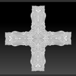 Free 3D model Decorative Cross, 3DLirious