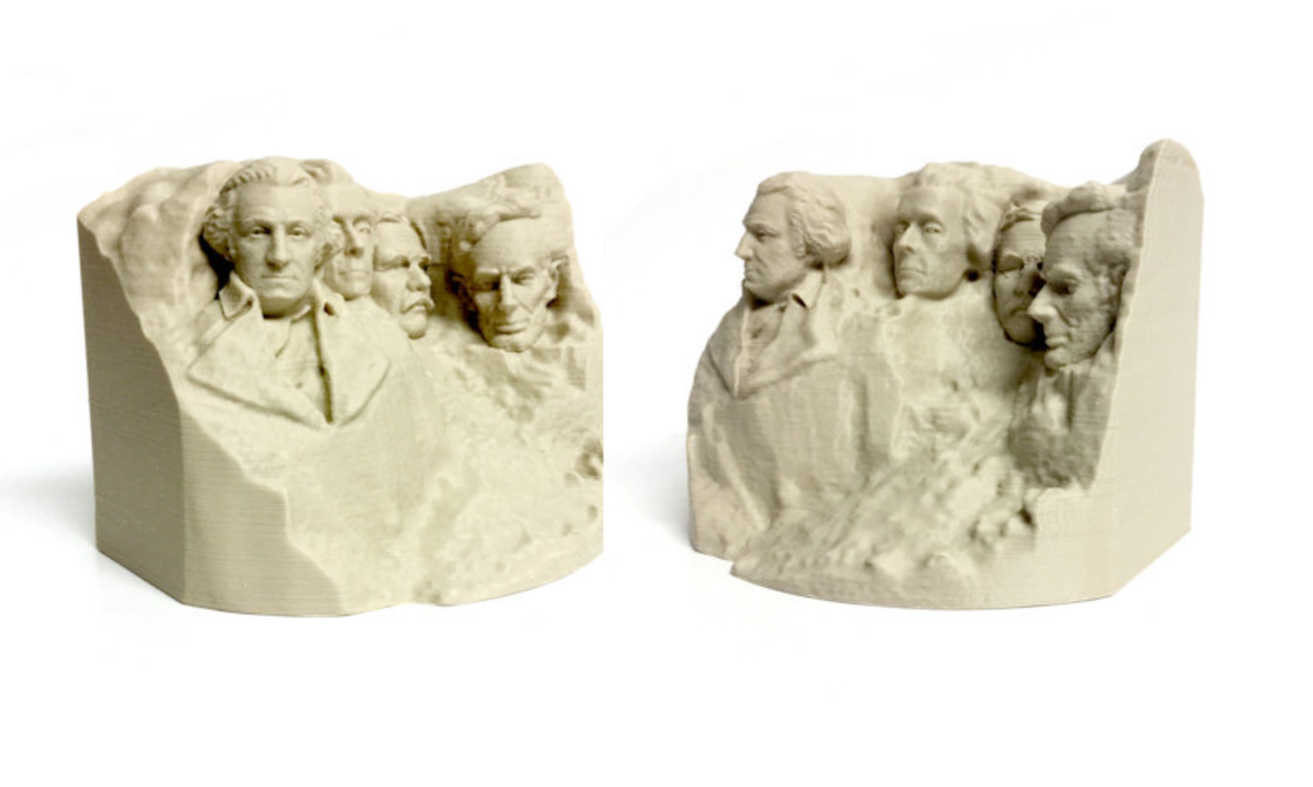 Capture d'écran 2017-09-21 à 12.54.09.png Download free STL file Stylized Mount Rushmore • Model to 3D print, 3DLirious