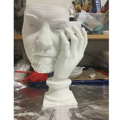 Download free 3D print files Solitude (Taking Off The Mask), 3DLirious