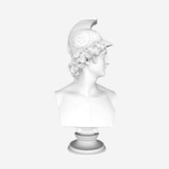 Download free OBJ file Bust of Abdiel • 3D printable design, 3DLirious