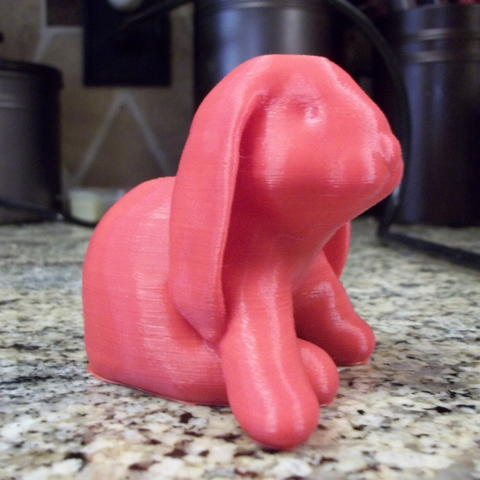 Capture d'écran 2017-09-21 à 11.49.44.png Download free OBJ file Ducky The Lop Eared Bunny Remix No Supports Needed • 3D printable design, 3DLirious