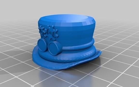 screenshot.8792.jpg Télécharger fichier STL gratuit Steampunk TopHat Pen Topper • Design pour imprimante 3D, 3DLirious