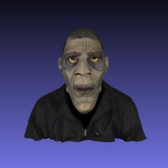 diseños 3d gratis Monster Mesh Color Escaneado, 3DLirious