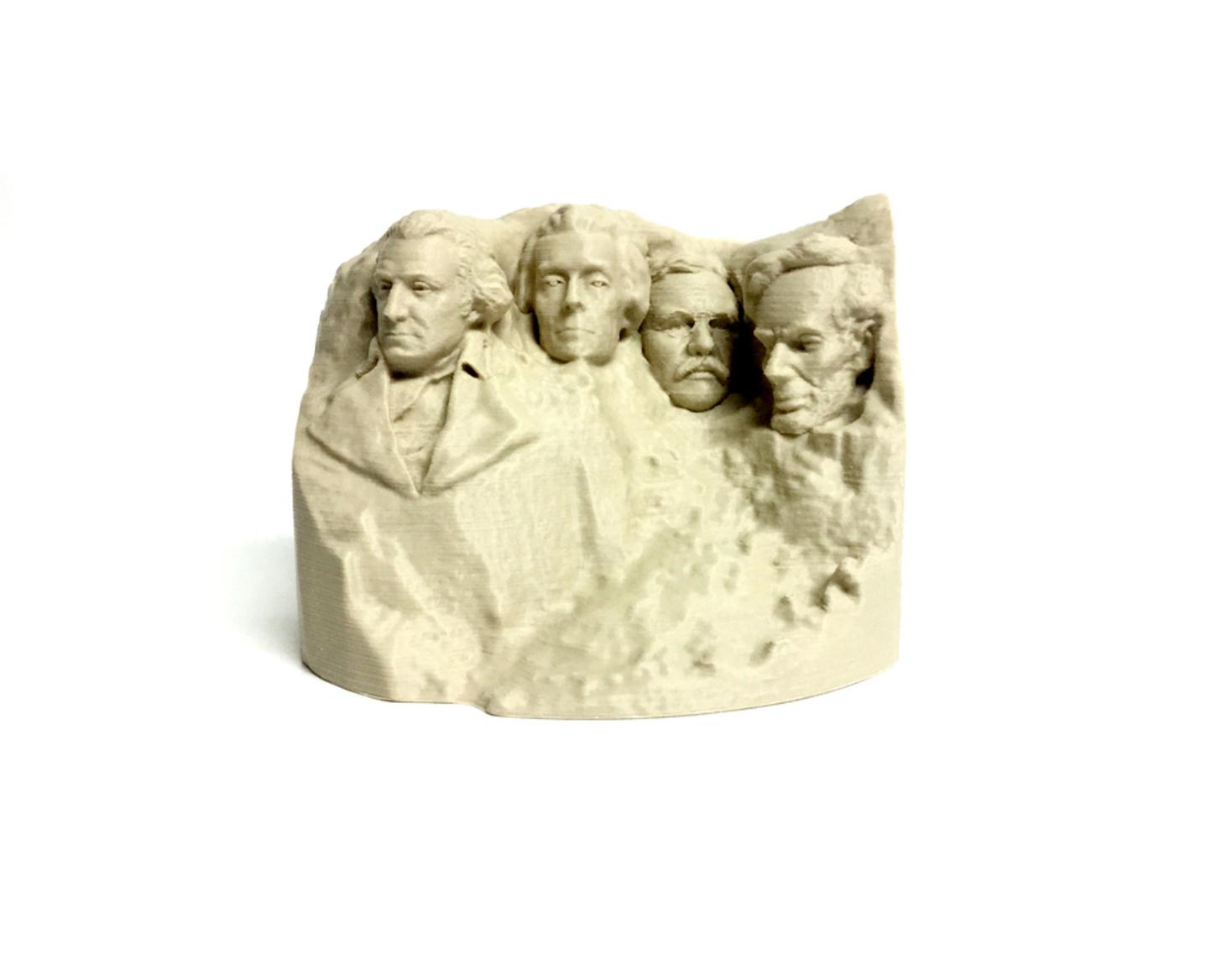 Capture d'écran 2017-09-21 à 12.54.01.png Download free STL file Stylized Mount Rushmore • Model to 3D print, 3DLirious