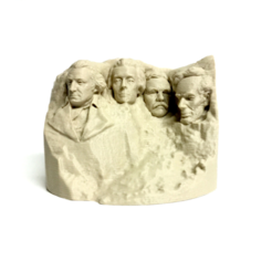 Free 3D model Stylized Mount Rushmore, 3DLirious