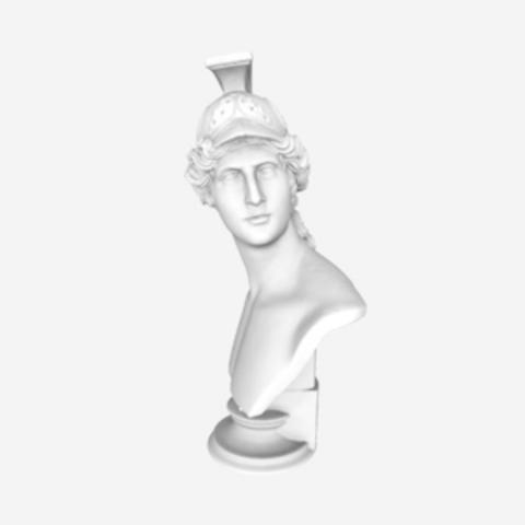 Capture d'écran 2018-07-31 à 10.47.00.png Download free OBJ file Bust of Abdiel • 3D printable design, 3DLirious