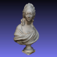 Download free 3D printing designs Bust of Anne-Marie-Louise Thomas de Domangeville de Sérilly, Comtesse de Pange, 3DLirious