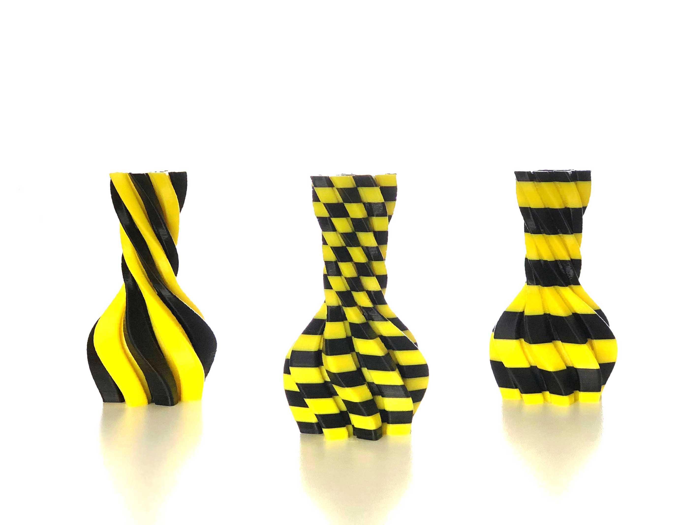 Affiche_Thingiverse.jpg Download free STL file New 2 colors vases • 3D printable design, Genapart