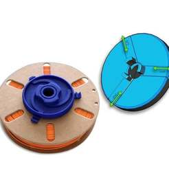 Adaptateur_sur_bobine3.jpg Download free STL file Universal spool adapter • 3D printer template, Genapart