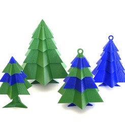 Free 3D printer model Modular Christmas tree, Genapart