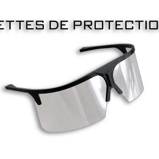 Télécharger plan imprimante 3D gatuit Lunettes de protection, Genapart