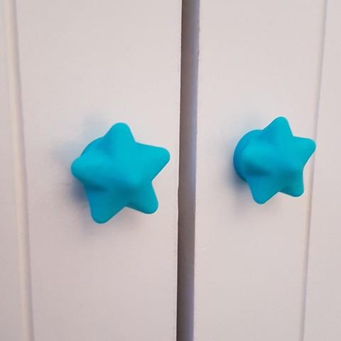 Download STL file Door knob / door handle / drawer • 3D printing object, Proxya