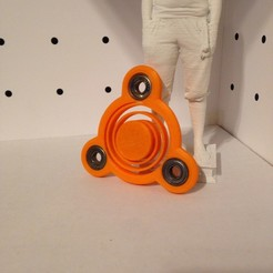 Download free 3D print files Spinner a launcher integrating MARK I, Bourelier