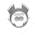 Download STL file Charger storage. • 3D print object, Cybric