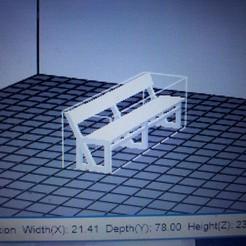Archivos 3D gratis banco, kfl