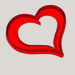 hEART_COOKIE_CUTTER.jpg Download free STL file Heart shaped Cookie Cutter • 3D printable object, hhz