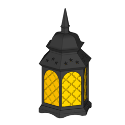 Download 3D printer templates Polish lantern, nakwadroid